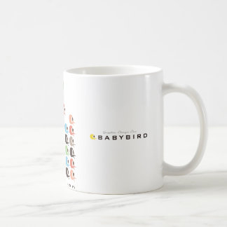 Babybirds Square Formation Mug