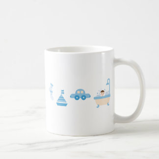 BabyBlue3 Classic White Coffee Mug