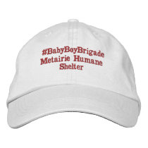 #BabyBoyBrigade Embroidered Baseball Cap