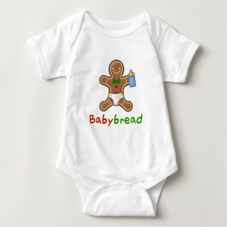Babybread Gingerbread Man Baby Bodysuit