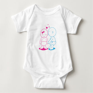 Babycakes Kiss Baby Bodysuit