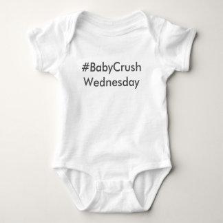 #BabyCrushWednesday Baby Bodysuit