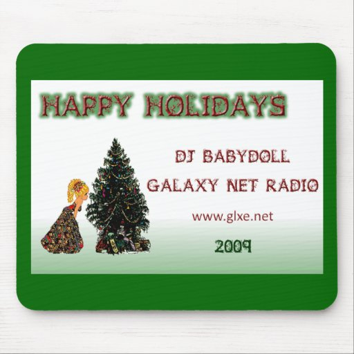 Babydoll - Holidays 2009 Mousepad