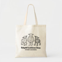 Babydoll Sheep products Tote Bag