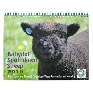 Babydoll Southdown Sheep 2015 NABSSAR Calendar
