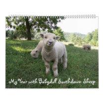 Babydoll Southdown Sheep Calendar
