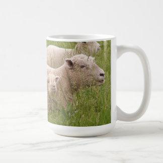Babydoll Southdown Sheep Classic White Coffee Mug