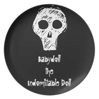 Babydoll the Indomitable Doll Plate