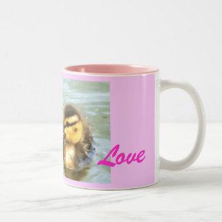 babyducks 2,           Love, Pure Coffee Mugs