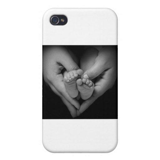 babyfeet iPhone 4 protectores