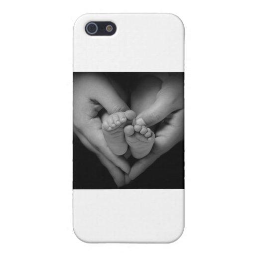 babyfeet iPhone 5 fundas