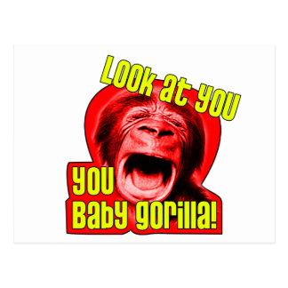 babygorilla1 postcard