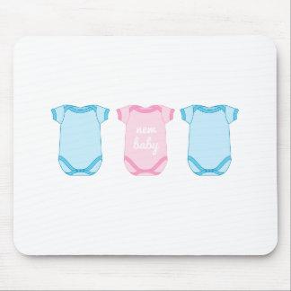 Babygro en nuevo cojín de ratón rosado y azul del  alfombrilla de ratones
