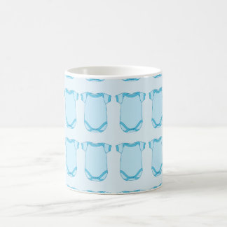 Babygro en taza azul