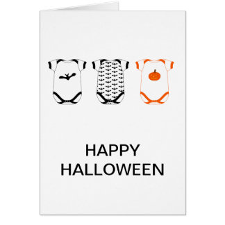 Babygro Happy Halloween Card