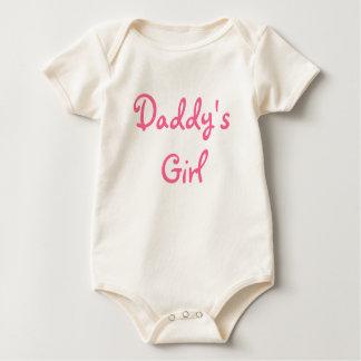 Babygrow del chica del papá mameluco