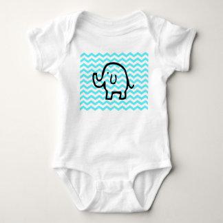 Babygrow del elefante playera