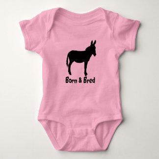 Babygrow llevado y crió colores del logotipo del body para bebé