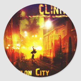 Babylon City  Products Round Stickers