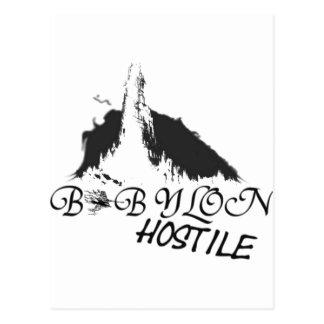 babylon crew postcard