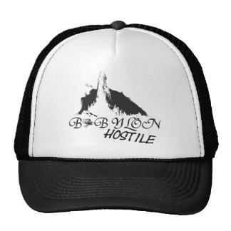 Babylon hostile trucker hat
