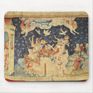 Babylon Invaded by Demons Mouse Pad