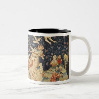 Babylon Invaded by Demons Two-Tone Coffee Mug