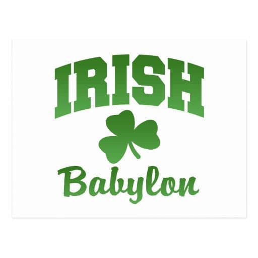 Babylon Irish Postcard