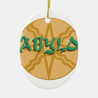 Babylon Star Ceramic Ornament