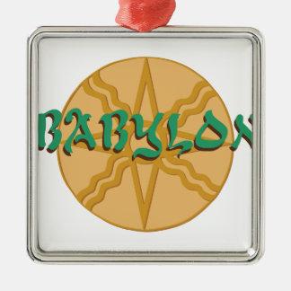 Babylon Star Metal Ornament