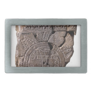 Babylonian Map of the World Belt Buckle