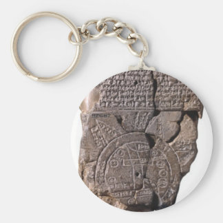 Babylonian Map of the World Keychain