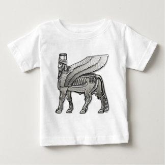 Babylonian Winged Bull Lamassu Baby T-Shirt