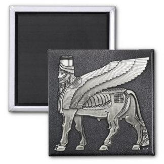 Babylonian Winged Bull Lamassu Refrigerator Magnet