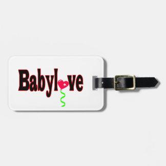 Babylove Etiquetas De Equipaje