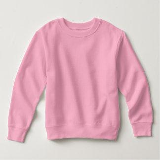 babyPINK del ROSA de la camiseta del paño grueso y