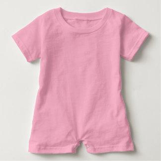 babyPINK del ROSA del mameluco del bebé