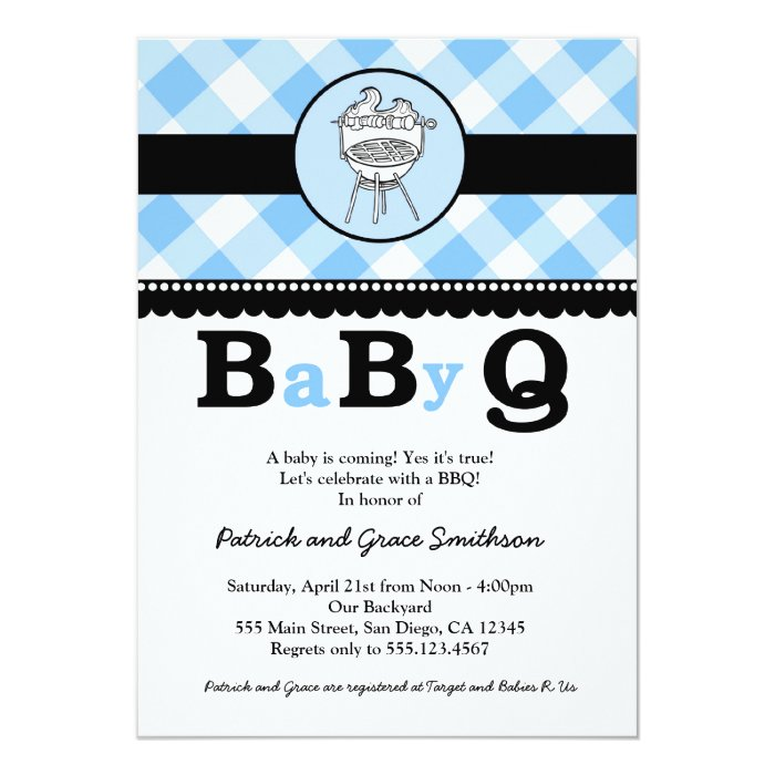 Bbq Baby Shower Invites for great invitations layout