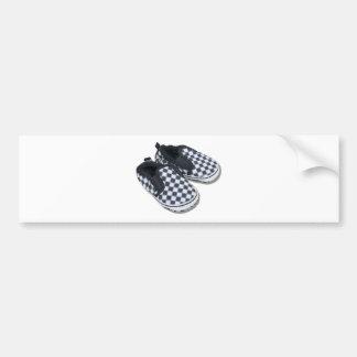 BabyRacingShoes101610 Etiqueta De Parachoque