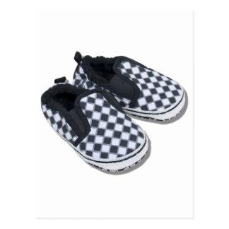 BabyRacingShoes101610 Postcard