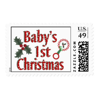 Babys1stChristmas Stamps