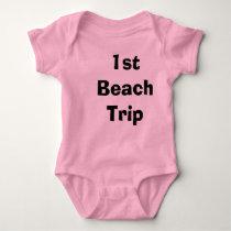 Baby's 1st Beach Trip Infant T-Shirt