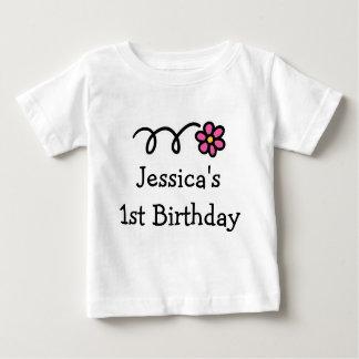 Babys 1st Birthday shirt | Personalized girl name