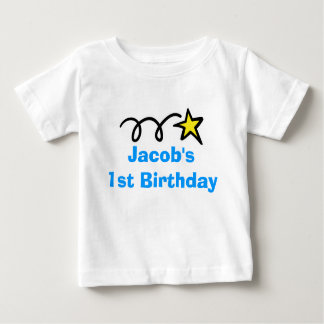 Babys 1st Birthday shirt   Personalized with name