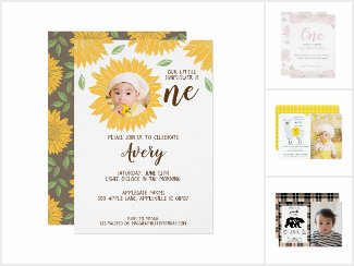 Baby's 1st Birthday Themes