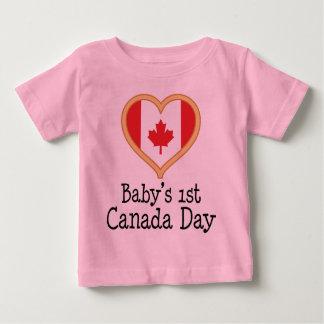 Babys 1st Canada Day Tshirts