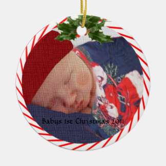 Babys 1st Christmas 2010 Ornament