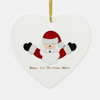 Babys 1st Christmas 2011 Christmas Tree Ornament