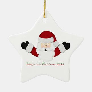 Babys 1st Christmas 2011 Christmas Ornaments