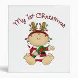 Babys 1st Christmas 3 Ring Binders